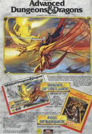 Advert for Heroes of the Lance on the Sega Master System.