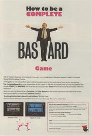 Advert for How to be a Complete Bastard on the Amstrad CPC.