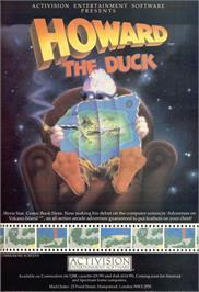 Advert for Howard the Duck on the Sinclair ZX Spectrum.
