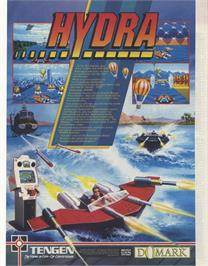 Advert for Hydra on the Sinclair ZX Spectrum.