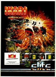 Advert for Ikari Warriors II: Victory Road on the Commodore 64.