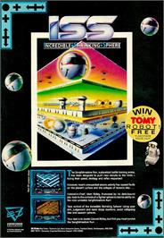 Advert for Incredible Shrinking Sphere on the Commodore Amiga.