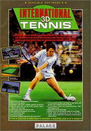 Advert for International Tennis on the Sinclair ZX Spectrum.