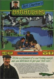 Advert for Jack Charlton's Match Fishing on the Sinclair ZX Spectrum.