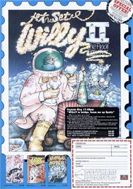 Advert for Jet Set Willy II: The Final Frontier on the Commodore 64.