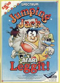 Advert for Jumping Jack on the Sinclair ZX Spectrum.