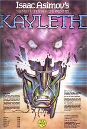 Advert for Kayleth on the Sinclair ZX Spectrum.