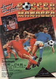 Advert for Kenny Dalglish Soccer Manager on the Sinclair ZX Spectrum.