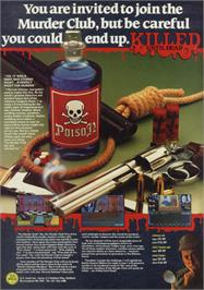 Advert for Killed Until Dead on the Sinclair ZX Spectrum.
