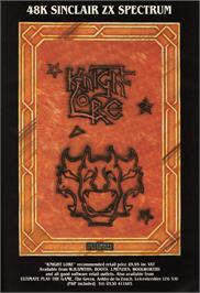Advert for Knight Lore on the Nintendo NES.