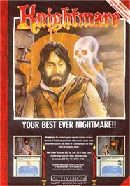 Advert for Knightmare on the Sinclair ZX Spectrum.
