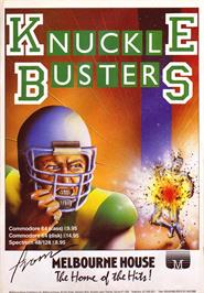 Advert for Knuckle Busters on the Sinclair ZX Spectrum.