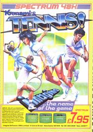 Advert for Konami's Tennis on the MSX.