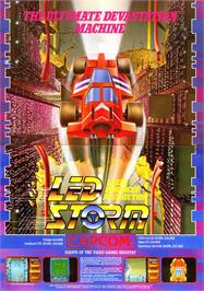 Advert for LED Storm on the Sinclair ZX Spectrum.