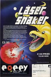 Advert for Laser Snaker on the Sinclair ZX Spectrum.
