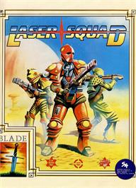Advert for Laser Squad on the Sinclair ZX Spectrum.