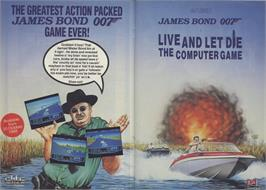 Advert for Live and Let Die on the Sinclair ZX Spectrum.