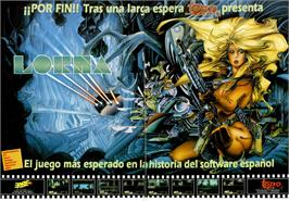 Advert for Lorna on the MSX.