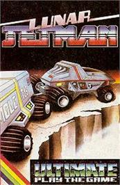 Advert for Lunar Jetman on the Sinclair ZX Spectrum.