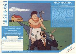 Advert for Mad Martha on the Sinclair ZX Spectrum.