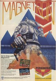 Advert for Magnetron on the Sinclair ZX Spectrum.