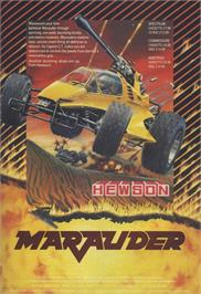 Advert for Marauder on the Sinclair ZX Spectrum.