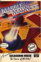 Advert for Marble Madness Construction Set on the Sinclair ZX Spectrum.
