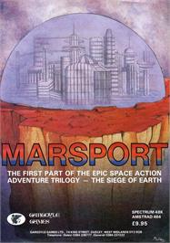 Advert for Marsport on the Amstrad CPC.