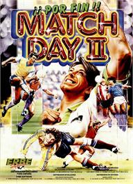 Advert for Match Day II on the Sinclair ZX Spectrum.