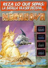 Advert for Meganova on the Sinclair ZX Spectrum.