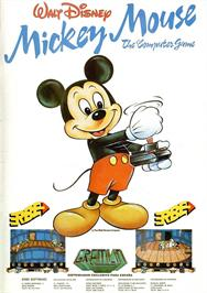 Advert for Mickey Mouse: The Computer Game on the Sinclair ZX Spectrum.