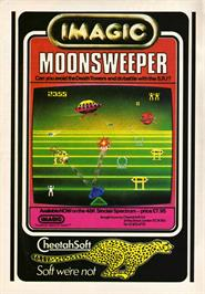 Advert for Moonsweeper on the Texas Instruments TI 99/4A.
