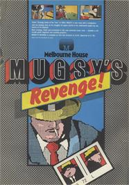 Advert for Mugsy's Revenge on the Sinclair ZX Spectrum.
