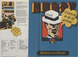 Advert for Mugsy on the Sinclair ZX Spectrum.