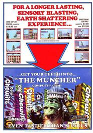 Advert for Muncher on the Bally Astrocade.