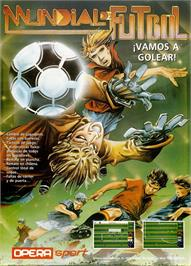 Advert for Mundial de Fútbol on the Amstrad CPC.