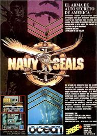 Advert for Navy Seals on the Sinclair ZX Spectrum.