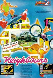 Advert for Neighbours on the Sinclair ZX Spectrum.