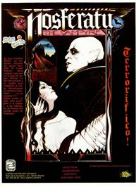 Advert for Nosferatu the Vampyre on the Sinclair ZX Spectrum.