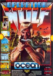 Advert for Operation Wolf on the Sinclair ZX Spectrum.