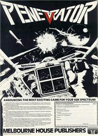 Advert for Penetrator on the Tandy TRS-80.