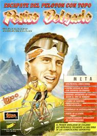 Advert for Perico Delgado Maillot Amarillo on the Sinclair ZX Spectrum.