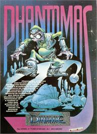 Advert for Phantomas on the Sinclair ZX Spectrum.