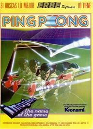 Advert for Ping Pong on the Sinclair ZX Spectrum.