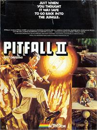 Advert for Pitfall II: Lost Caverns on the Sinclair ZX Spectrum.