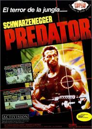 Advert for Predator on the Sinclair ZX Spectrum.