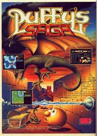Advert for Puffy's Saga on the Atari ST.