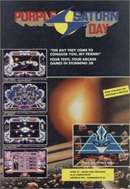 Advert for Purple Saturn Day on the Amstrad CPC.