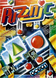 Advert for Puzznic on the Sinclair ZX Spectrum.