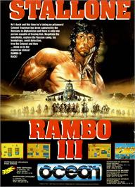 Advert for Rambo III on the Sega Master System.